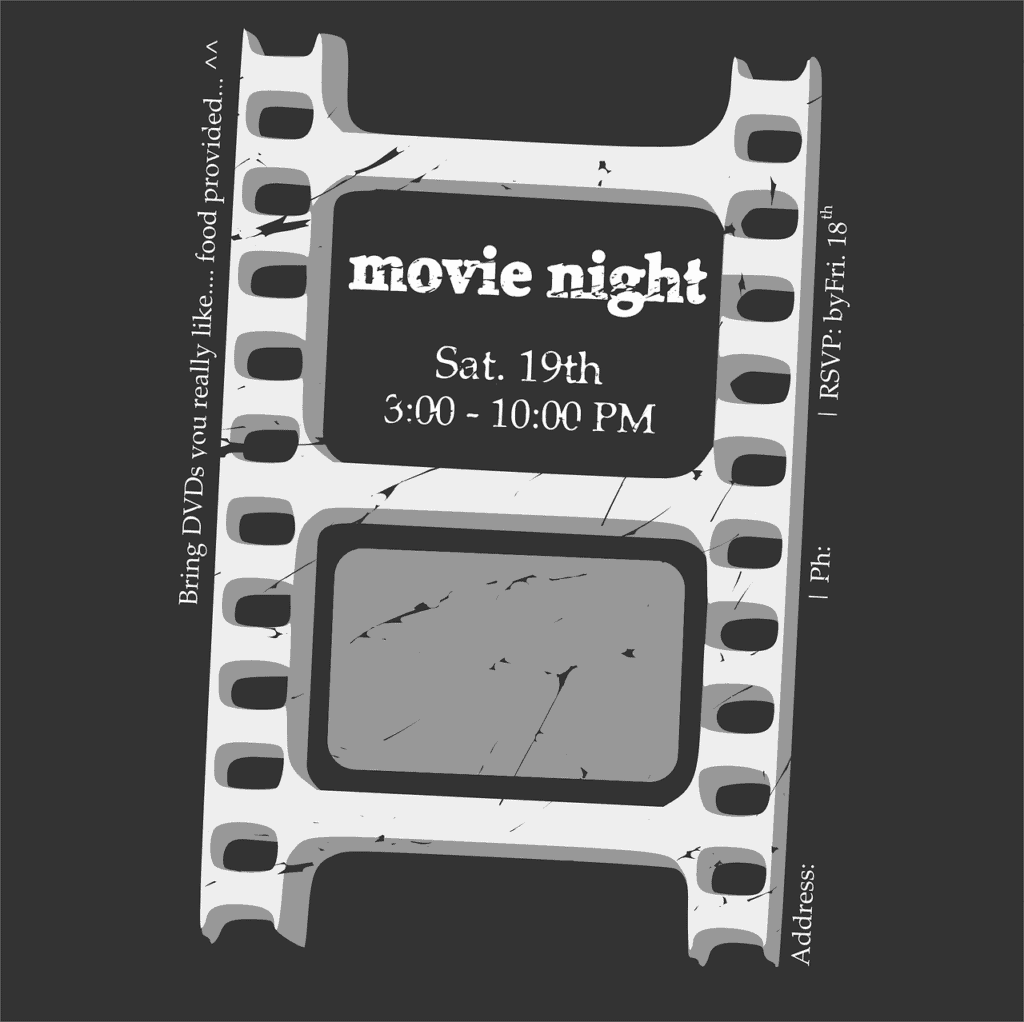 60 Birthday Party Ideas Movie Night