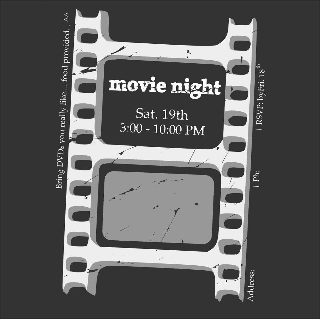 60-birthday-party-ideas-movie-night