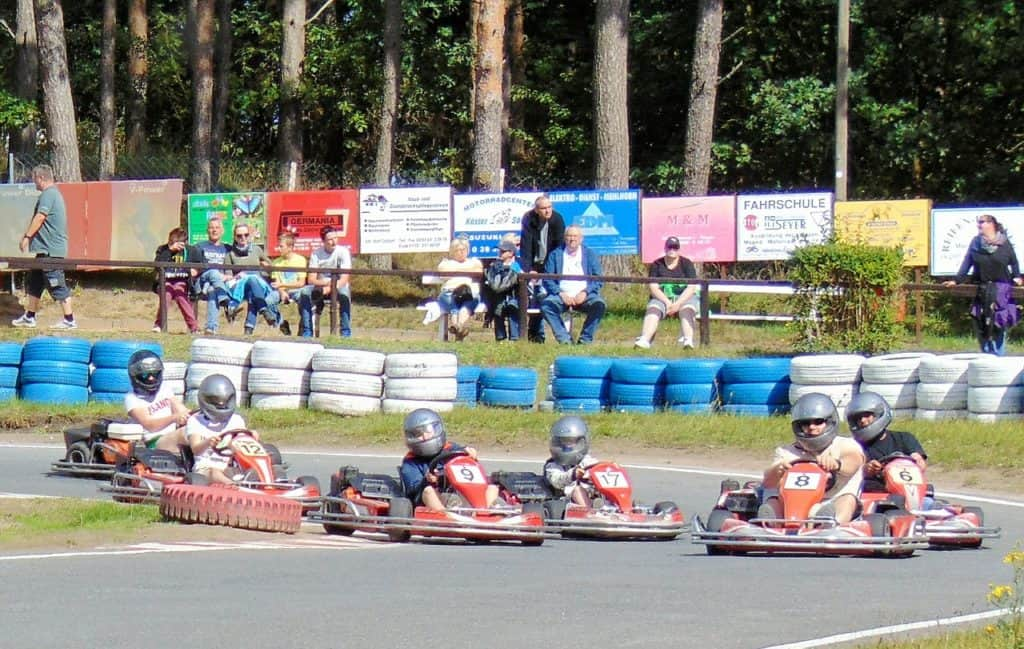 Karting For 18th Birthday Party Idea